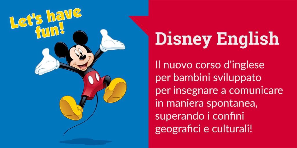 disney english lingua lezioni topolino